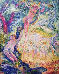 Die Lichtung Anagoria, 1906 von Henri-Edmond Cross