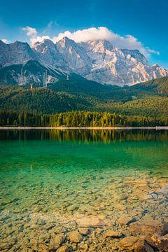 Eibsee en Zugspitze