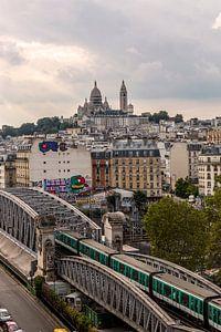 Montmartre depuis les toits  van