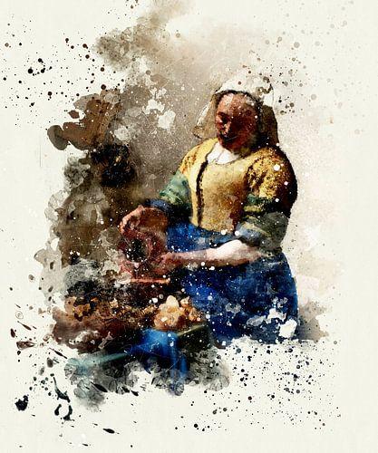 Het Melkmeisje - Vermeer