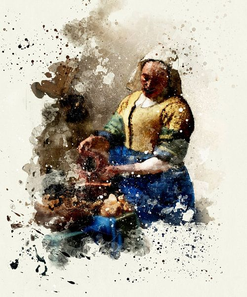 Het Melkmeisje - Vermeer van zippora wiese