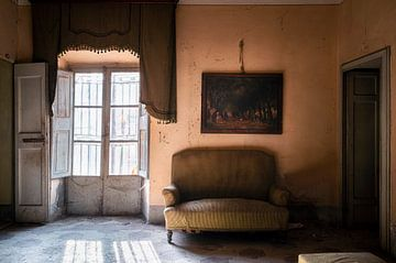 Salle atmosphérique abandonnée. sur Roman Robroek