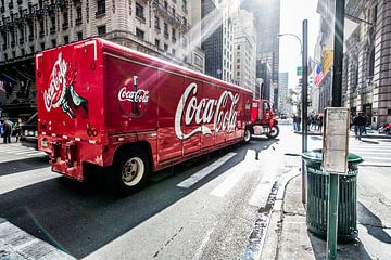 New York Coca Cola truck sur John Sassen