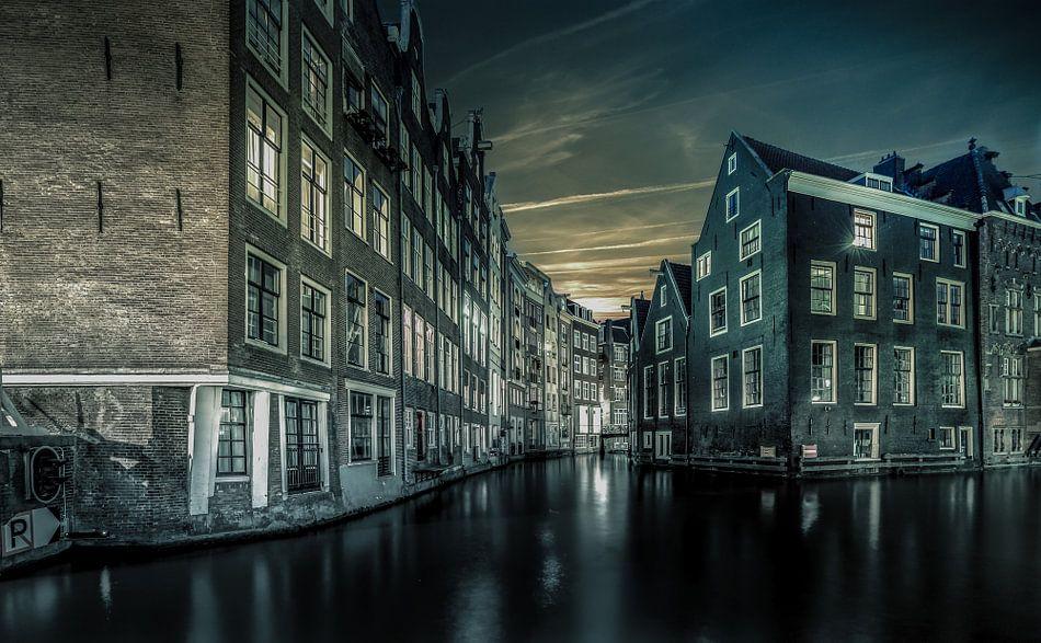 Amsterdamse grachten van Mario Calma