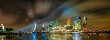 Panorama Rotterdam van Glenn Nieuwenhuis