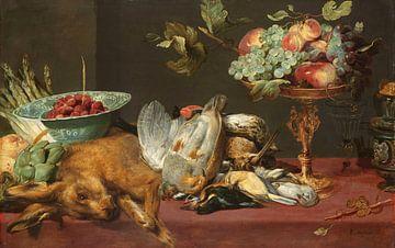 Stillleben mit kleinem Wild und Früchten, Frans Snijders