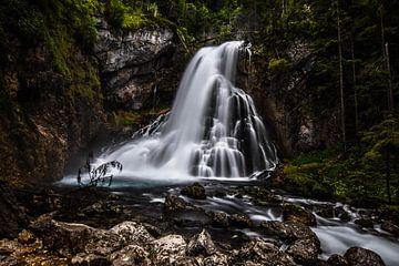 Gollinger Wasserfall von Julia Schellig