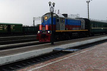 trein naar Mongolie  von Robert Lotman