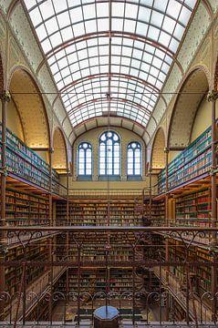 Bibliothèque du Rijksmuseum d'Amsterdam sur Foto Amsterdam / Peter Bartelings