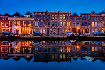 Leiden in Lockdown: Nieuwe Rijn von Carla Matthee