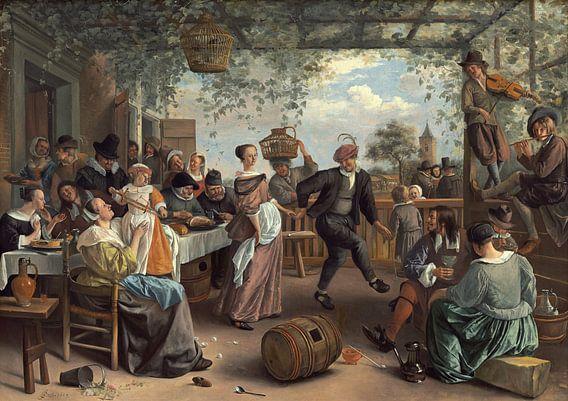 Jan Steen - Het Dansende Paar