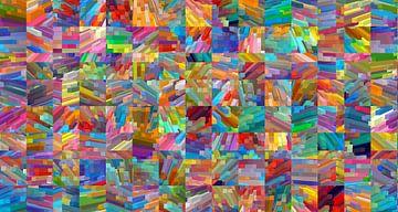 Kleurrijke blokken van Marion Tenbergen