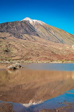 De vulkaan Teide in de spiegel van Martin Wasilewski