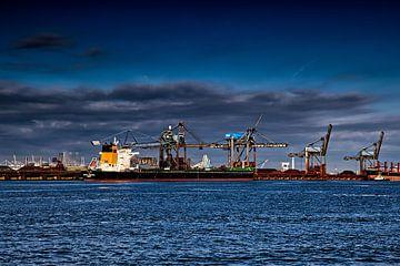 Le port en bleu sur Robert Jan Smit