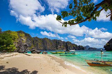 Tropisch strand van Antwan Janssen