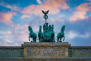 Quadriga in Berlijn van Martin Wasilewski
