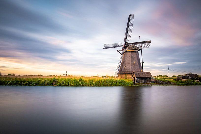 Mühle Kinderdijk von Juul Hekkens
