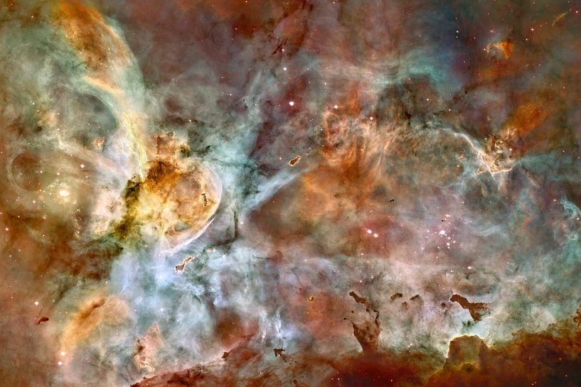 Carina Nebula van Rhianne Loonstra