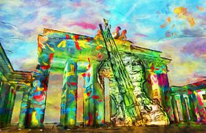 Brandenburger Tor, abstract