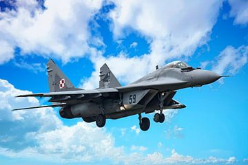 Mikojan-Goerevitsj MiG-29 #1 van Gert Hilbink