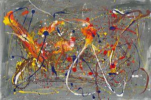 Burning Flowers van Dorothea Leinung