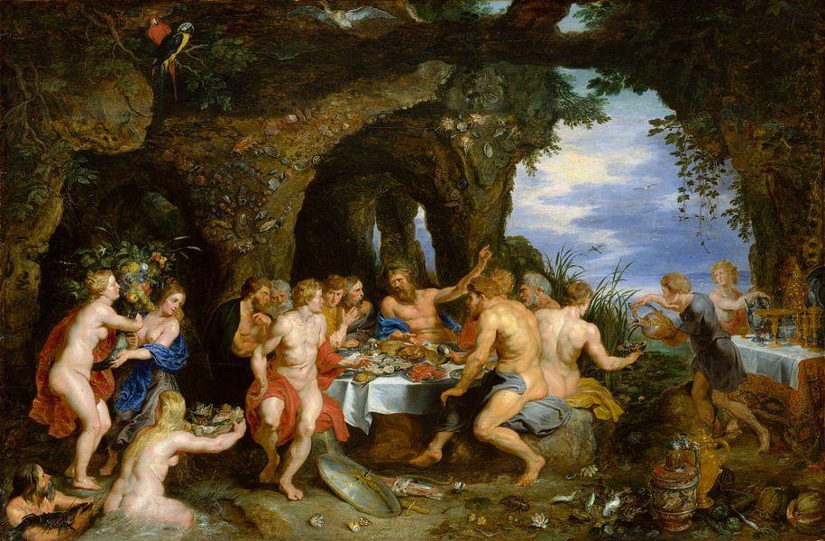 Rubens, Feest Van Achelous van Meesterlijcke Meesters