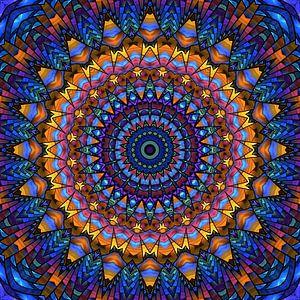 Mandala-regenboog van