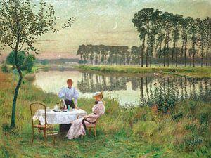 Sommerabend, Emile Claus