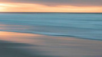 Zonsondergang Texel van FL fotografie