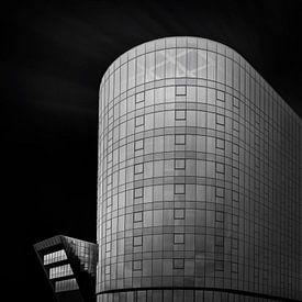 Gent - Fine Art - Architectuur - Zwart Wit. van Vincent Willems