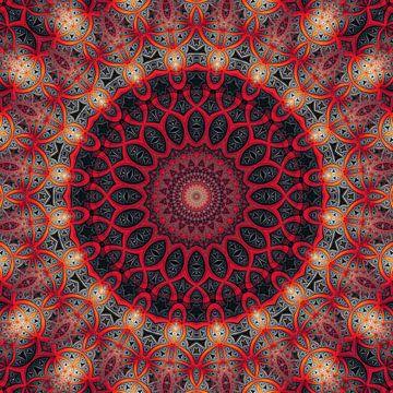 Mandala toucher tendre sur Marion Tenbergen