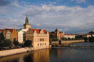 Uitzicht vanaf de Karelsbrug in Praag van Marit Lindberg