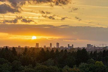 Träumen bei Sonnenuntergang von Mitchell van Eijk