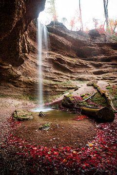 Der kleine Wasserfall van
