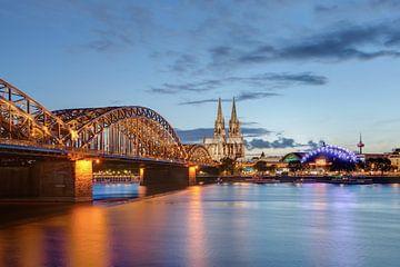 Cologne le soir sur Michael Valjak