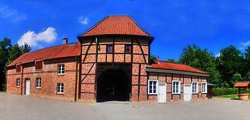 Panorama du château sur Edgar Schermaul
