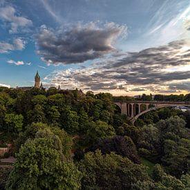 Sprookje Luxemburg Stad  van Rob van der Teen