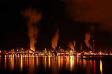 Skyline IJmuiden von Monique Struijs