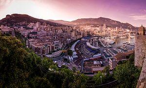 Monaco voor de F1 van Kevin van Deursen