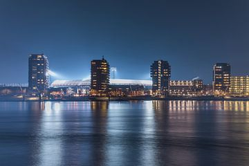 "Feyenoord Stadion ""De Kuip"" 2017 in Rotterdam van MS Fotografie   Marc van der Stelt"