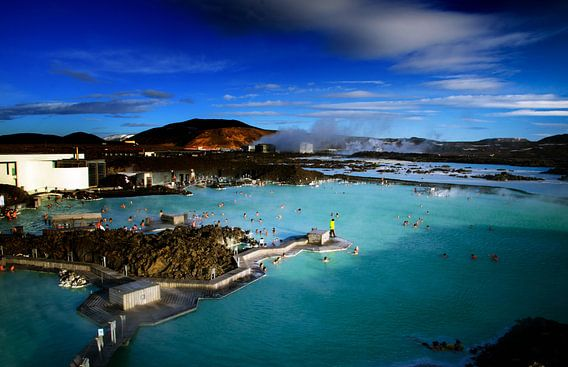 Blue lagoon van Lex Schulte