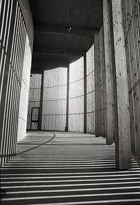 Chapel of Reconciliation  at the Berlin Wall of East Berlin van Silva Wischeropp