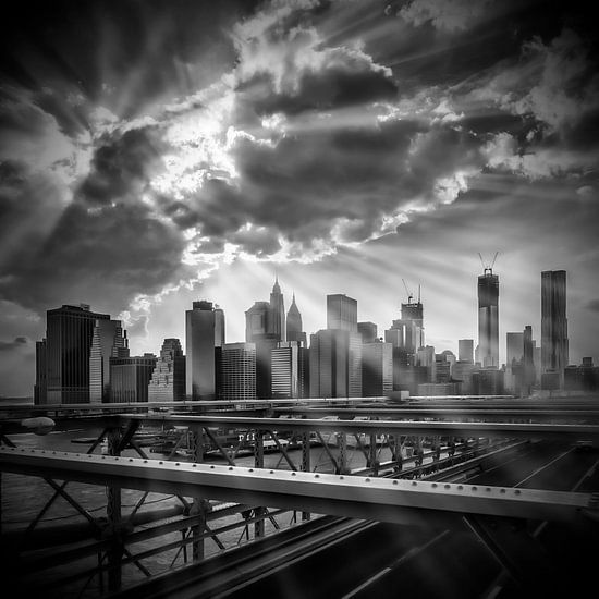 Manhattan Sunrays s/w van Melanie Viola