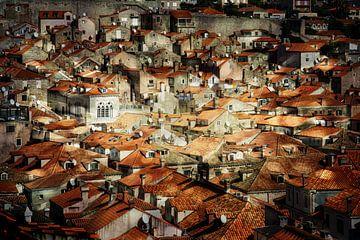 Über den Dächern von Dubrovnik von Sabine Wagner