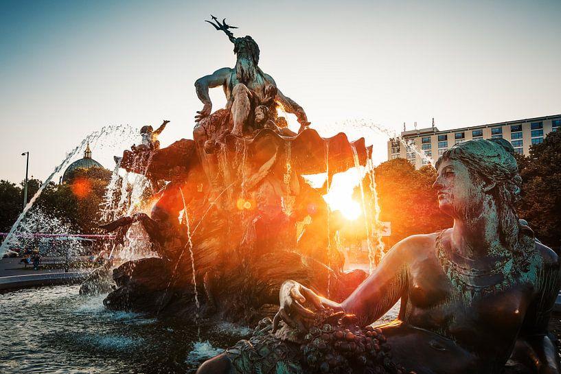 Berlin – Neptune Fountain van Alexander Voss