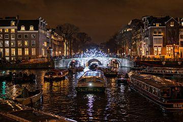 Amsterdam Light Festival van Eric de Kuijper