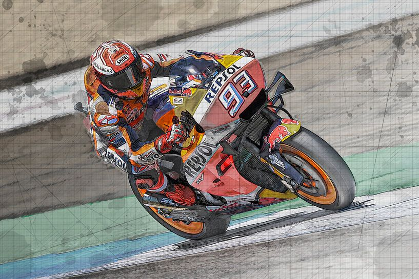 Alex Marquez Motul TT Assen von Theo Groote