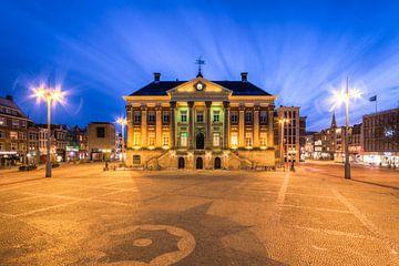 Rathaus und Grote Markt Groningen von