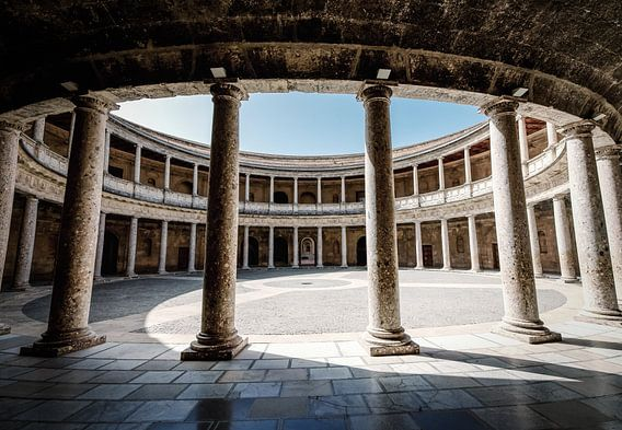 Karl der Große Palast in der spanischen Alhambra