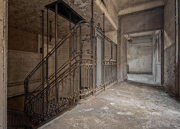 Treppe oder Fahrstuhl? von Iris van Heusden
